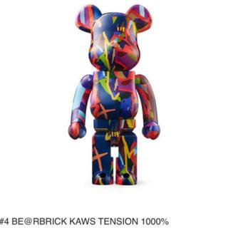 メディコムトイ(MEDICOM TOY)のBE@RBRICK KAWS TENSION 1000%  ③(フィギュア)