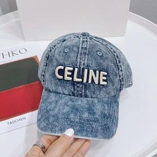 celine - CELINEデニム野球帽