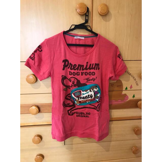 rough(ラフ)のroughレディースTシャツ レディースのトップス(Tシャツ(半袖/袖なし))の商品写真