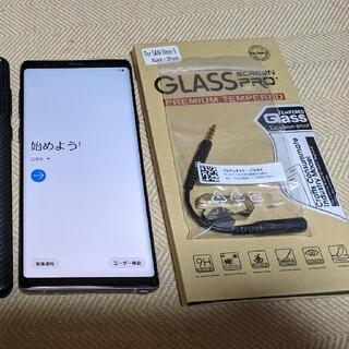 ギャラクシー(Galaxy)のau Galaxy note9 パープル(スマートフォン本体)