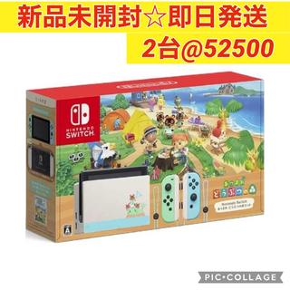 Nintendo Switch - あつまれどうぶつの森セット Nintendo Switch スイッチ 2台