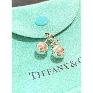 ティファニー(Tiffany & Co.)のティファニー ハードウェアボールピアス 美品(ピアス)