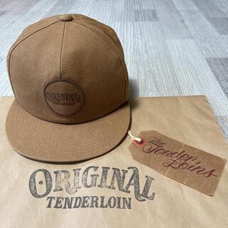 テンダーロイン(TENDERLOIN)の人気品! TENDERLOIN トラッカーキャップ ダック カーキ ブラウン 茶(キャップ)