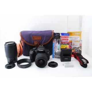 キヤノン(Canon)の1057 Canon EOS Kiss X5 28-300mm 対応 ダブル(デジタル一眼)