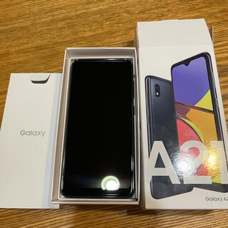 ギャラクシー(Galaxy)のGalaxy A21 64GB BLACK(スマートフォン本体)