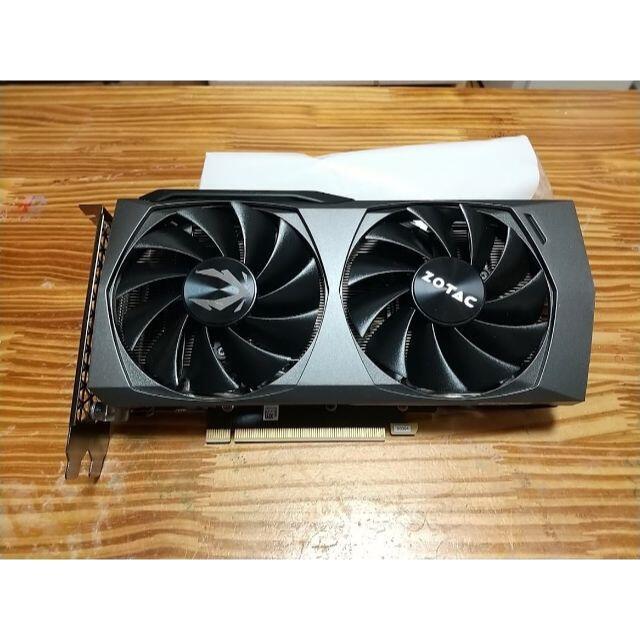 ZOTAC GeForce RTX 3060 Ti Twin Edge スマホ/家電/カメラのPC/タブレット(PCパーツ)の商品写真