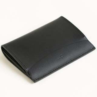 エムピウ(m+)の【エムピウ】m+ FERMA WALLET Short ブラック(折り財布)