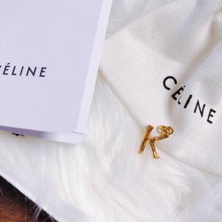 セリーヌ(celine)の正規セリーヌ#アルファベットチャーム#K#ミニ(チャーム)