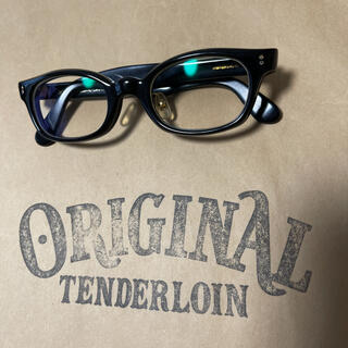 TENDERLOIN - 絶版! TENDERLOIN 白山眼鏡 インザウィンド ブラック ゴールド 黒金