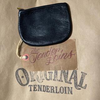 テンダーロイン(TENDERLOIN)の絶版! TENDERLOIN コイン ケース シープスキン レザー ブラック 黒(コインケース/小銭入れ)