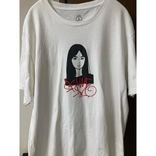 ソフ(SOPH)のKyne 0030 S/SL Tee - White(Tシャツ/カットソー(半袖/袖なし))