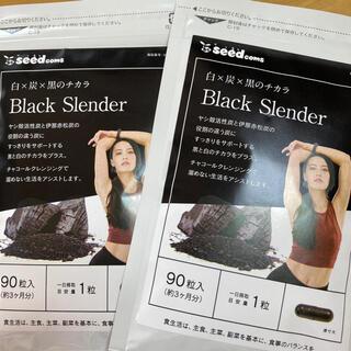 【新品】話題のダイエットサプリ ブラックスレンダー 6ヶ月分(3ヶ月×2)(ダイエット食品)
