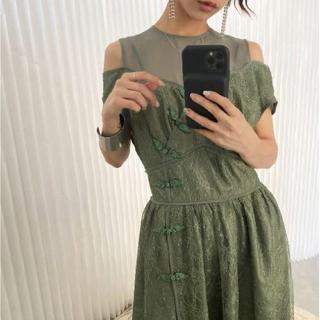 アメリヴィンテージ(Ameri VINTAGE)のアメリ チャイナ ドレス(ロングドレス)