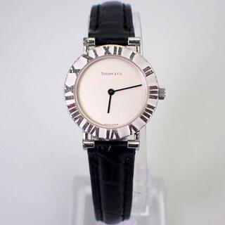 Tiffany & Co. - ティファニー アトラス L0640 レディース クォーツ 時計[g547-10]