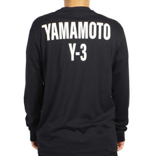 Y-3 - Y-3 ワイスリー ロングスリーブ T  YOHJI YAMAMOTO ロンT