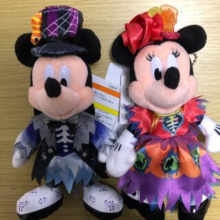 Disney - ディズニー ハロウィン2021 ミッキー ミニー ぬいば 2個セット