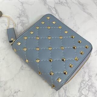 ヴァレンティノ(VALENTINO)のバレンティノVALENTINO キルティングレザー 財布(財布)