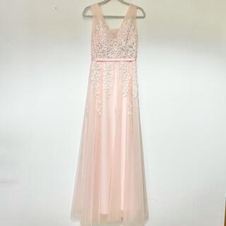 カラードレス ピンク 結婚式 前撮り ウエディング