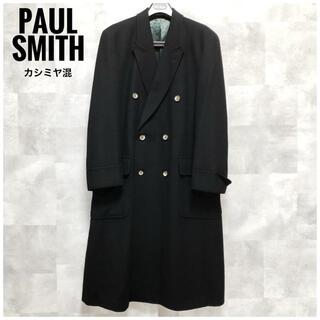 Paul Smith - 極美品⭐️カシミヤ混⭐️Paul Smith ダブルチェスターコート ブラック