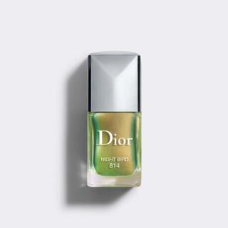 ディオール(Dior)のディオール ヴェルニ バーズオブアフェザー 814 ナイトバード(マニキュア)