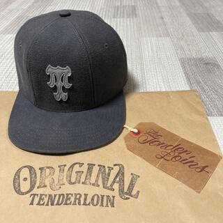 テンダーロイン(TENDERLOIN)の人気品! TENDERLOIN トラッカー ベースボール キャップ グレー 灰色(キャップ)