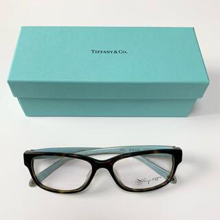 Tiffany & Co. - 【最終価格】 未使用 TIFFANY ティファニー ブルーテンプルメガネ