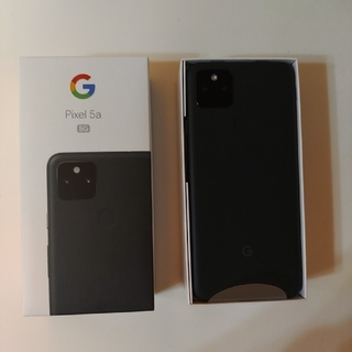 Google Pixel - 【新品未使用】Google Pixel 5a 5G Black