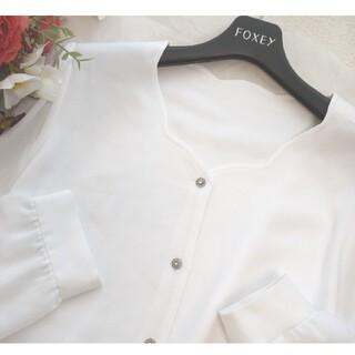 ルネ(René)の極美品♡ルネ♡スカラップカット♡ブラウス(シャツ/ブラウス(半袖/袖なし))