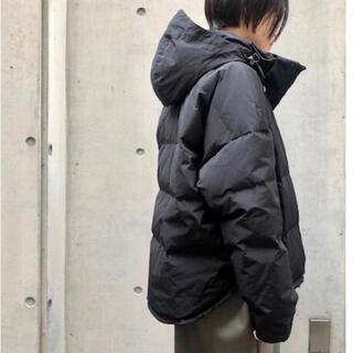 ENFOLD - 1度着用のみ nagonstans タフタドルマンジャケット 36 黒
