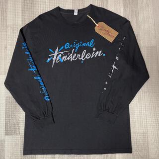 テンダーロイン(TENDERLOIN)の人気品! TENDERLOIN 長袖 Tシャツ ロンT PAC ブラック 黒 L(Tシャツ/カットソー(七分/長袖))