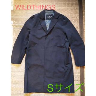 ワイルドシングス(WILDTHINGS)のWILD THINGS アメリカンラグシー別注 コート Sサイズ(チェスターコート)