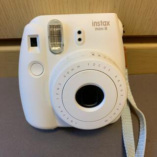 フジフイルム(富士フイルム)のFUJI FILM instax mini 8 チェキ インスタントカメラ(フィルムカメラ)