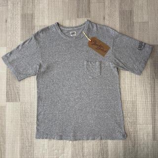 テンダーロイン(TENDERLOIN)の絶版! TENDERLOIN 半袖 Tシャツ TEE ポケット グレー M(Tシャツ/カットソー(半袖/袖なし))