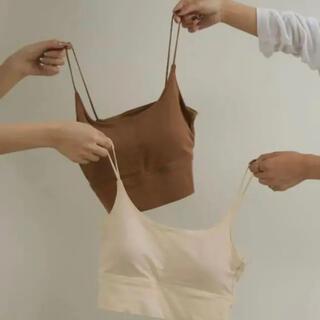 トゥデイフル(TODAYFUL)の【早い者勝ち!】amiur  cotton daily bra top(キャミソール)