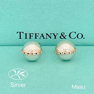 ティファニー(Tiffany & Co.)の希少TIFFANY&Co. ティファニーボルトスタッドハードウェアピアス(ピアス)