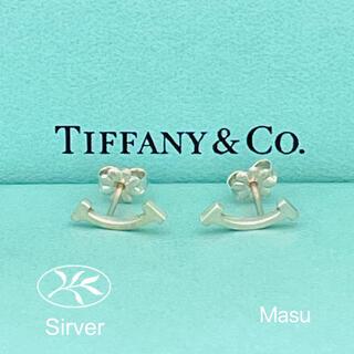 ティファニー(Tiffany & Co.)のTIFFANY&Co. ティファニーTスマイルピアス(ピアス)