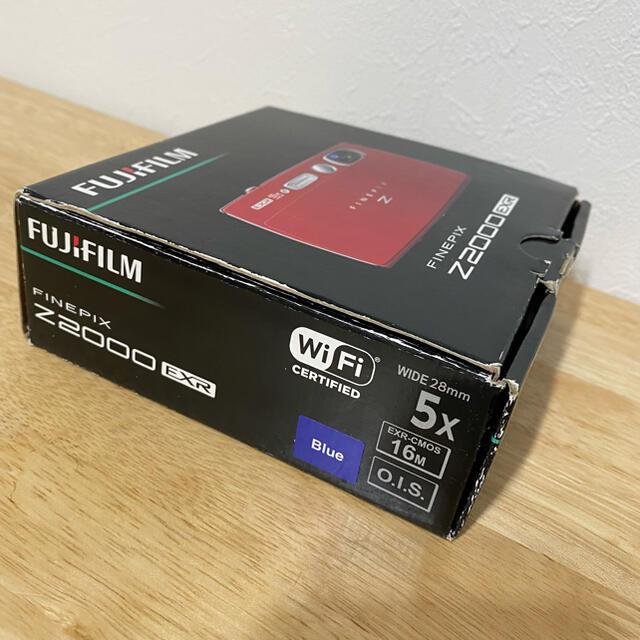 富士フイルム(フジフイルム)のFINEPIX FUJIFILM デジタルカメラ Z2000EXR ブルー BL スマホ/家電/カメラのカメラ(コンパクトデジタルカメラ)の商品写真