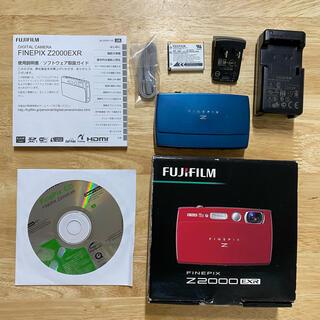 富士フイルム - FINEPIX FUJIFILM デジタルカメラ Z2000EXR ブルー BL