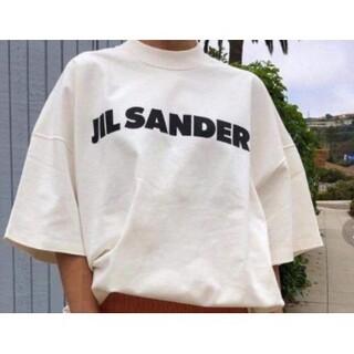 大人気中 JIL SANDER ジルサンダー オーバーサイズ ロゴ Tシャツ