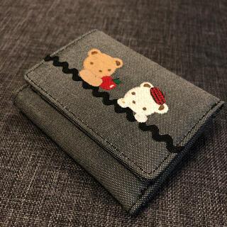 familiar - ♪伊勢丹で購入♪ 超美品 ファミリア 三つ折りミニ財布