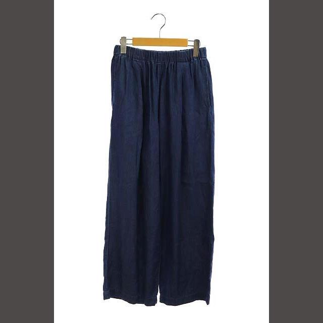 DOORS / URBAN RESEARCH(ドアーズ)のアーバンリサーチ ドアーズ 20SS ワイドパンツ イージー One 青 ブルー レディースのパンツ(その他)の商品写真