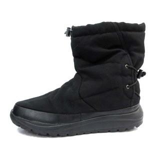 コロンビア(Columbia)のコロンビア ショートブーツ 無地 ポリエステル 26.0cm 黒(ブーツ)