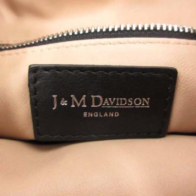 J&M DAVIDSON(ジェイアンドエムデヴィッドソン)のジェイ&エムデヴィッドソン ショルダーバッグ 2way カーフレザー 黒 レディースのバッグ(ショルダーバッグ)の商品写真