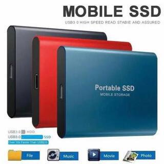 新品未使用 ポータブル SSD 2TB 【ブルー】