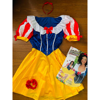 【新品未使用】白雪姫コスプレセット(衣装一式)