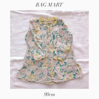 ラグマート(RAG MART)のラグマート キッズ チュニック 90cm(Tシャツ/カットソー)