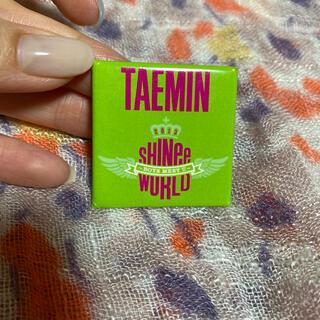 シャイニー(SHINee)のテミン 缶バッチ(K-POP/アジア)