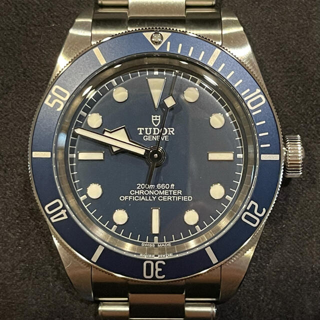 Tudor(チュードル)のTUDOR ブラックベイ58 79030B 美品 メンズの時計(腕時計(アナログ))の商品写真