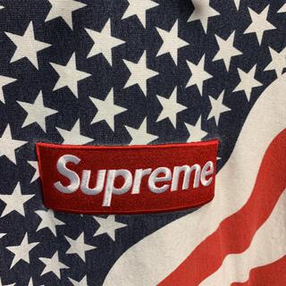 シュプリーム(Supreme)のSupreme box logo pullover flag(パーカー)