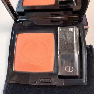 Dior - ディオール◆スキンルージュブラッシュ439 チークオレンジコーラル系